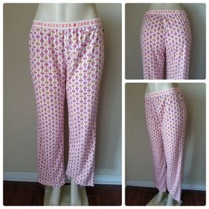 Jane & Bleecker NY Pink Pajama Lounge Pants